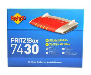 AVM Fritzbox 7430 450 Mbps WLAN Router / Fritz!Box VDSL/ADSL Fritz ⭐️⭐️⭐️⭐️⭐