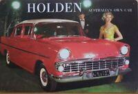 HOLDEN AUSTRALIAS OWN CAR Metal Tin Sign Vintage Retro Shed Garage Bar Man Cave