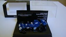 Minichamps Jackie Stewart World Champions Collection1:43 Tyrrell Ford 006 1973