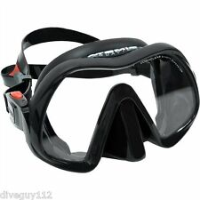 Atomic Venom Frameless Dive Mask for FreeDiving Scuba Snorkeling Regular - Black