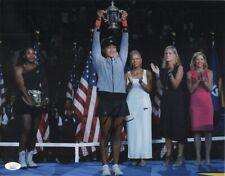 "NAOMI OSAKA Authentic Hand-Signed ""TENNIS US OPEN WINNER"" 11x14 Photo JSA COA C"