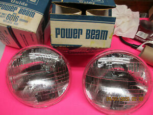 N.O.S.  Wagner 6014 Sealed Beam Headlight Hi/Low Beam CAMARO NOVA GMC TRUCK 6012