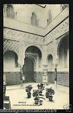 179.-SEVILLA -Alcázar, Patio de las Muñecas (Fototipia de Hauser y Menet)