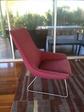 Genuine WALTER KNOLL Pearson Lloyd 'FLOW' Armchair - Living Edge Modernist Retro