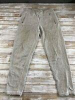 ORVIS MEN SIZE SMALL COTTON BLEND GRAY LOUNGE SWEAT PANTS EUC