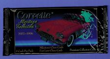 Corvette Heritage Collection Trading Card Unopened Pack W/8 CARDS 1953-1966