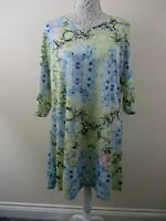 River Island dress size 16 multi floral spring colours stretch pretty party