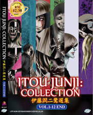 DVD ANIME Itou Junji: Collection Vol.1-12 End ENGLISH DUB Region All +FREE ANIME