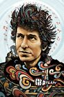 Bob Dylan Poster, 5 Color Screen print! Signed & Numbered by Zeb Love. Not Mondo