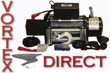 NEW VORTEX 10000 LB Pound Recovery Winch wired + wireless remote!!