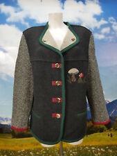 Frankonia Jagd Hirschhornknöpfe Stickerei Walkjacke Trachtenjacke Jacke Gr.42