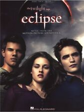 The Twilight Saga Eclipse Play Movie Hits Songs Piano Vocal Guitar MUSIC BOOK