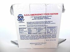 LOT OF 2 3600 CALORIE EMERGENCY SURVIVAL FOOD BARS 18 MEALS 5 YEAR SHELF LIFE