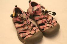 Keen Newport Pink Camouflage sandals 12 30 VGUC Waterproof Girls Youth
