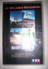 K7 VIDEO VHS BEST OF 5 LE MEILLEUR DU SKATEBOARD
