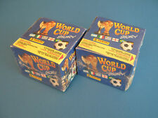 Panini world cup story 2 OVP displays 100 pochettes