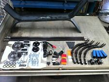 TRAILER AXLE KIT COMPLETE WITH GUARDS, WIRING  & LED LIGHTS TANDEM 2TONNE LOOSE