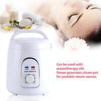1.8L 110V/220V Saunas Steamer Pot Home Shower SPA Portable Steam Generator MF