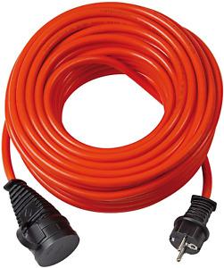 Brennenstuhl BREMAXX Verlängerungskabel - 10m Kabel in Orange, für den Einsatz