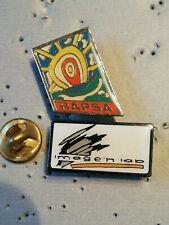 2 Pin's Pins Nouvelle Calédonie RAPSA Nouméa & image'n