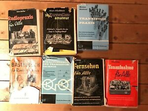 diverse Taschenbücher - Heinz Richter - Radio & Elektronik