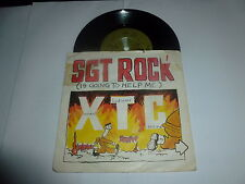 "XTC - Sgt Rock - UK 7"" Vinyl Single"