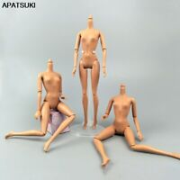 1/6 11 Jointed DIY Movable Naked Doll Body Without Head for Barbie Doll Toys 1:6