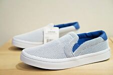 adidas Originals Court Vantage Junior Kids Slip On Trainers Pumps Size 4 (OAT)