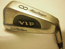 **MACGREGOR JACK NICKLAUS VIP #8 IRON STIFF MENS R/H- FREE SHIPPING IN USA - **