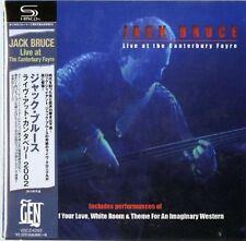 JACK BRUCE-LIVE AT THE CANTERBURY FAYRE-JAPAN MINI LP SHM-CD Ltd/Ed F56