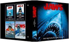Jaws 4-Movie Legacy Custom 3-Ring Binder Photo Album Roy Scheider/Lorraine Gary