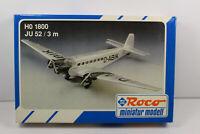 ro3110, RAR Roco 1800 Junkers Ju 52/3m mint OVP 1:87 Bausatz Kit
