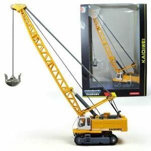 1:87 Crane Alloy Engineering Car Diecast Handling Vehicle Model Toy Casting Toys