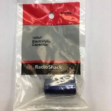 Radio Shack Electrolytic Capacitor 1000uf 50wvdc Axial Leads - Brand NEW