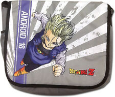 Dragonball Z Android 18 Messenger Bag Anime Manga NEW
