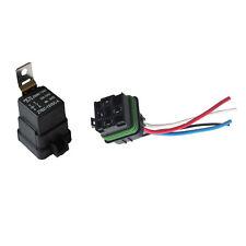 Car Motor 12V 40A SPST Relay Socket Plug 4P 4 Wire Kit Waterproof Iron Sales