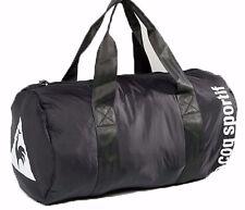 LE COQ SPORTIF Duffel Travel Gym Yoga Bag Navy BLACK Handles BNWT's