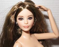(C) NUDE BARBIE (C~ BRUNETTE CITY CHIC KARL ARTICULATED MODEL MUSE DOLL FOR OOAK