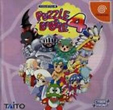PUZZLE BOBBLE 4 Sega Dreamcast DC Import Japan