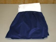 Tailored Bed Skirt ~ Full ~ Sports Mesh Fabric ~ Navy *NEW*