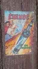 """1980 MEXICAN COMIC CHANOC # 1073 """"LOS PERDIDOS"""" SPACE ROCKET PARODY ED NOVEDADES"""