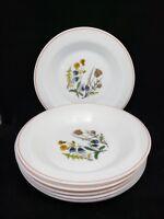 Arcopal France Daffodil Blue Bells Thistle Soup Salad Bowls