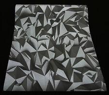 42097-50) Vliestapete mit 3D Optik Times Tapete - anthrazit + silber glänzend