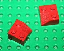 Lego Red Slope 45 2x2 Double Concave ref 3046/set 740.4886.6754.4956.1592.911