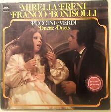 LP-MIRELLA FRENI-FRANCO BONISOLLI-DUETS-PUCCINI,VERDI-MINT