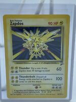 Pokemon Base Set 2 Zapdos 20/130 | Holo | Rare | Played/Very Played Condition