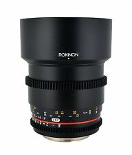 New Rokinon 85mm T1.5 Cine Aspherical Lens for Sony Alpha Mount CV85M-S