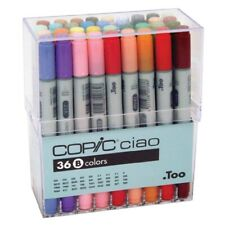 Too COPIC Ciao Artist Markers 36 colors B set Manga Anime Comic with tracking