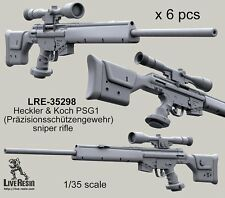 Live Resin 35298 1/35 PSG1 (Prazisionsschutzengewehr) Sniper