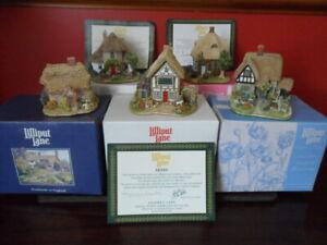 5 x Lilliput Lane Cottages Bundle - Job Lot - Boxed with Deeds/Certificates Mint